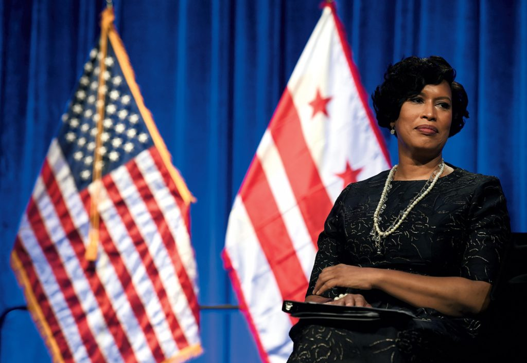 Muriel Bowser For President Washingtonian