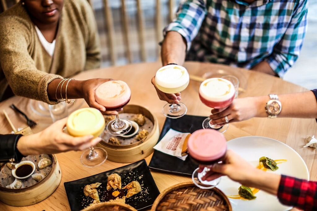 Saturday is Peru's National Pisco Sour Day. Celebrate with $5 pisco sours at China Chilcano. Photograph courtesy of China Chilcano.