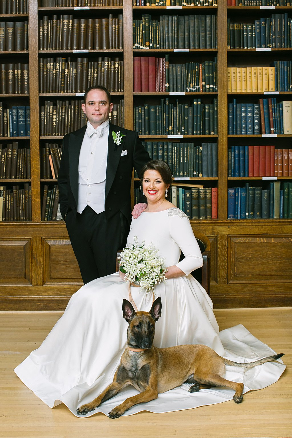 f03556ce89946 These Navy Vets Pulled off a Timeless Science-Themed Wedding at DC's  Carnegie Institution for Science