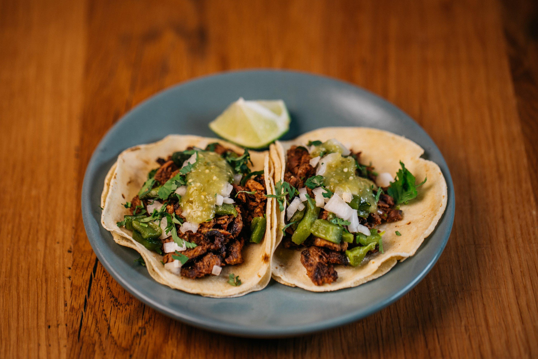 Carne Asada Tacos at Buena Vida. Photograph by Ardent Vibe.