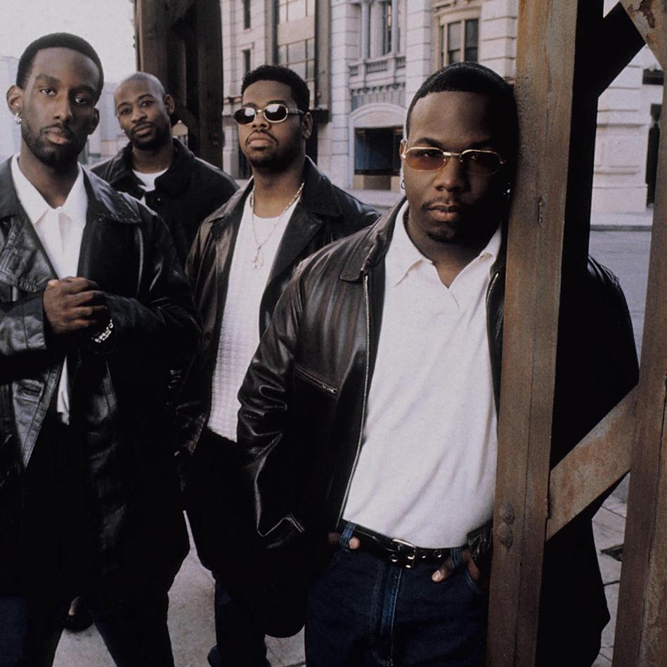 Photograph of Boyz II Men by Zuma Press/Alamy.