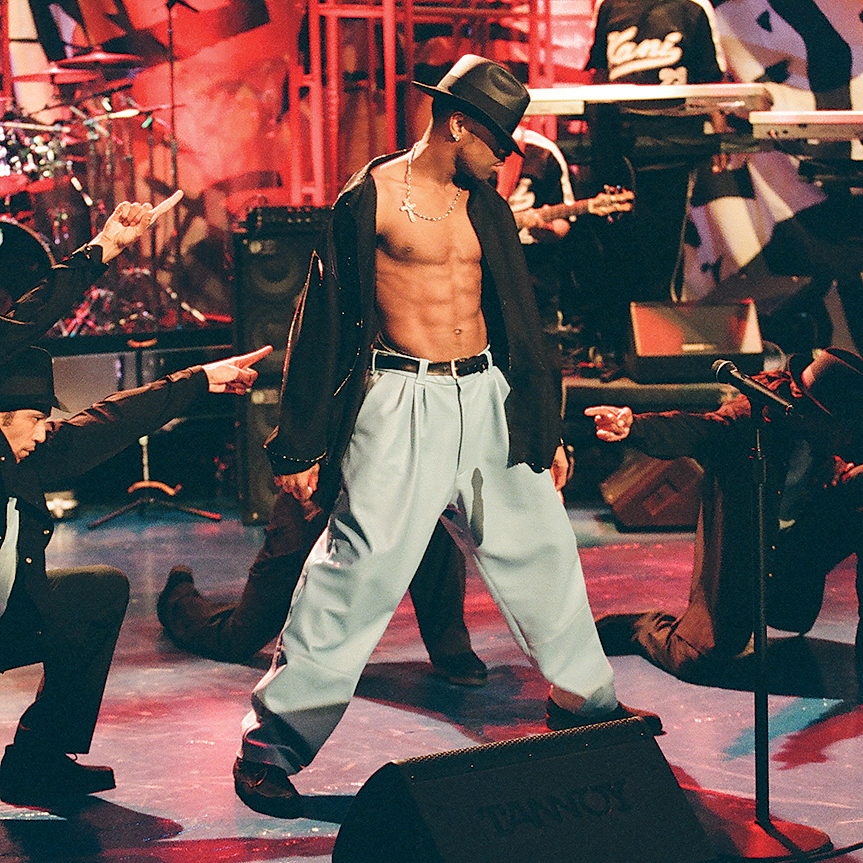 Photograph of Ginuwine by NBC/NBCU Photo Bank via Getty Images.