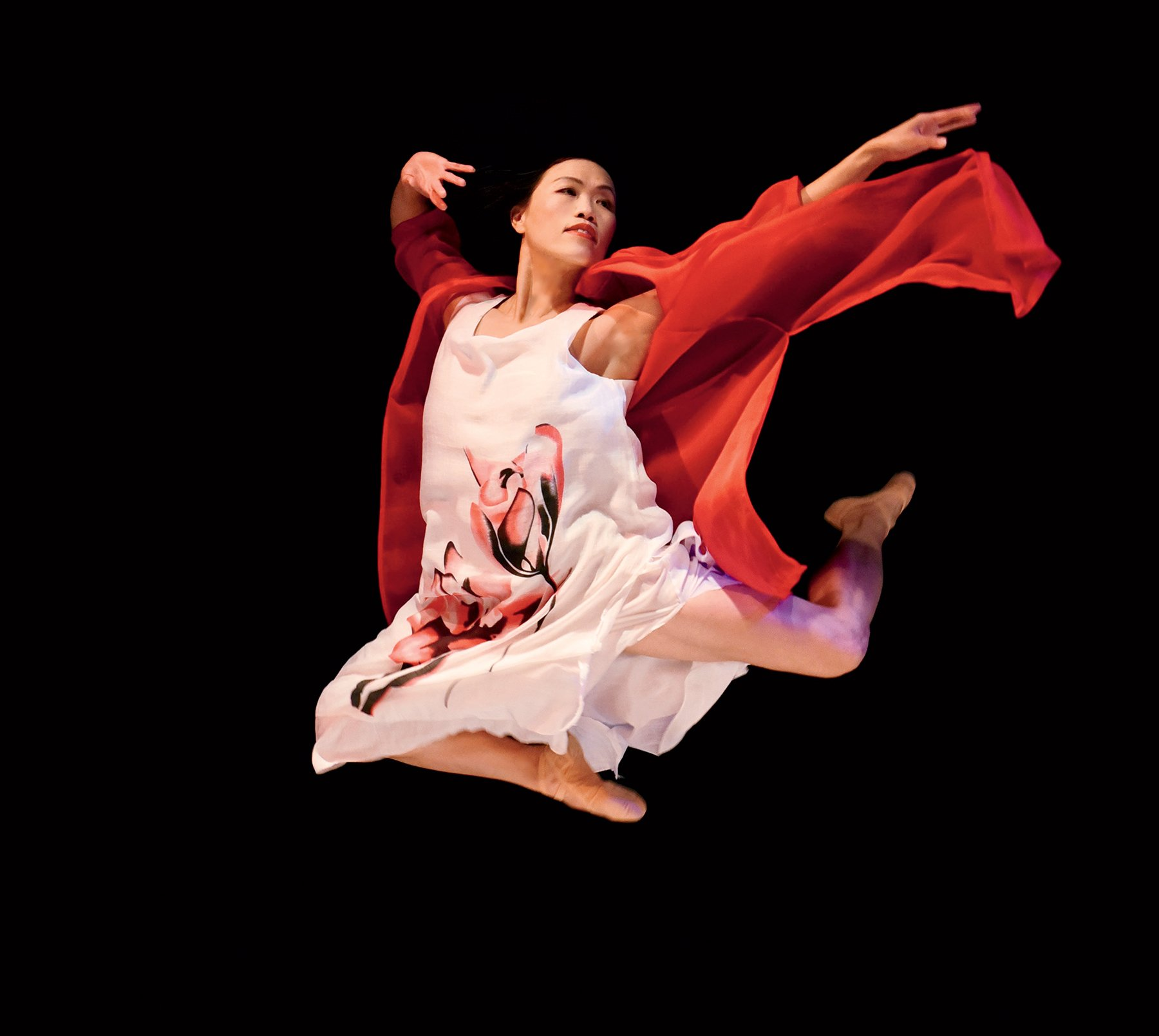 Things to do around DC this February. Shu-Chen Cuff of Gin Dance Company. Photograph courtesy of Intersections Festival.