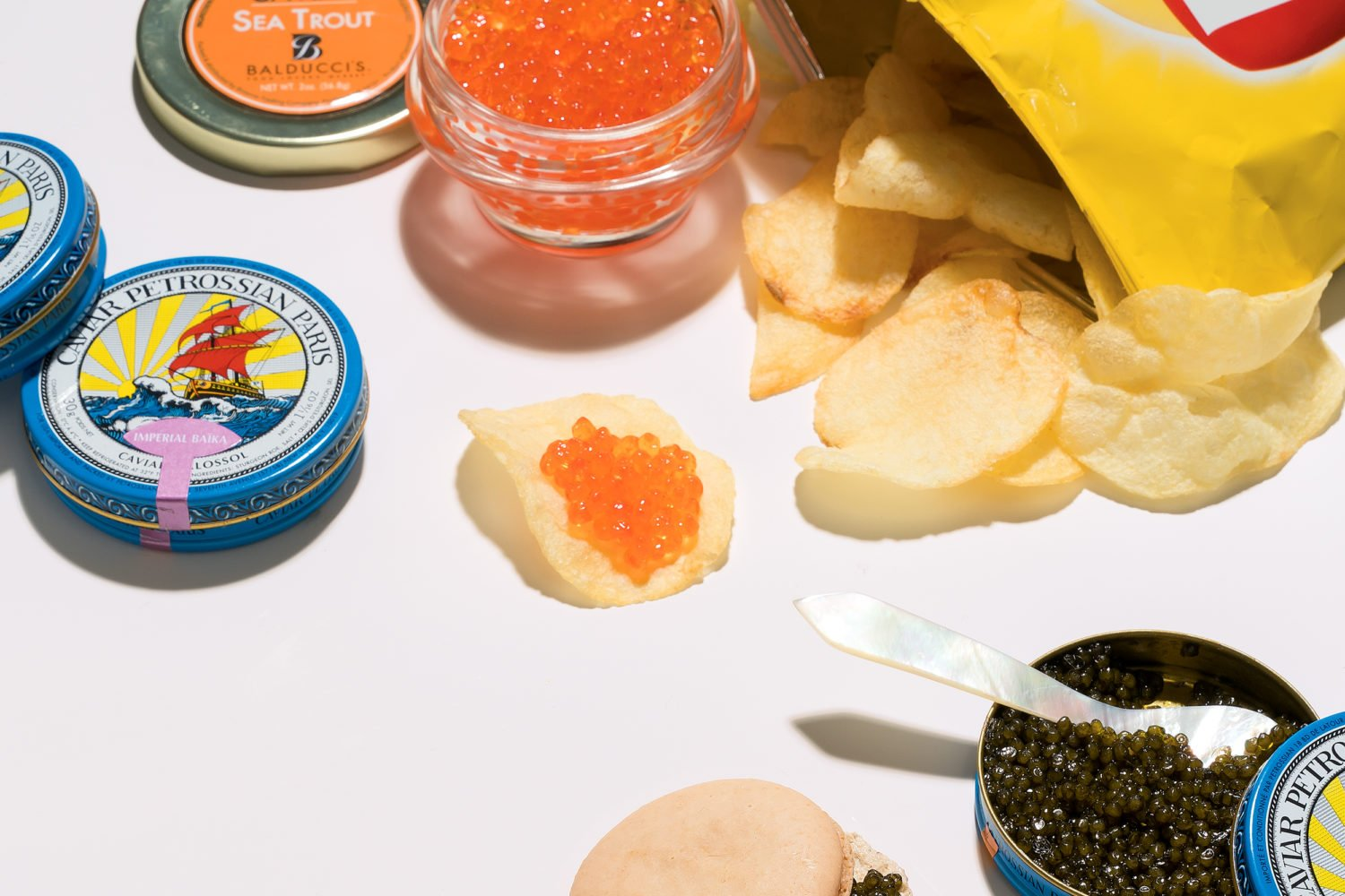 Caviar is having a moment–but with a fun twist. Photograph by Scott Suchman.
