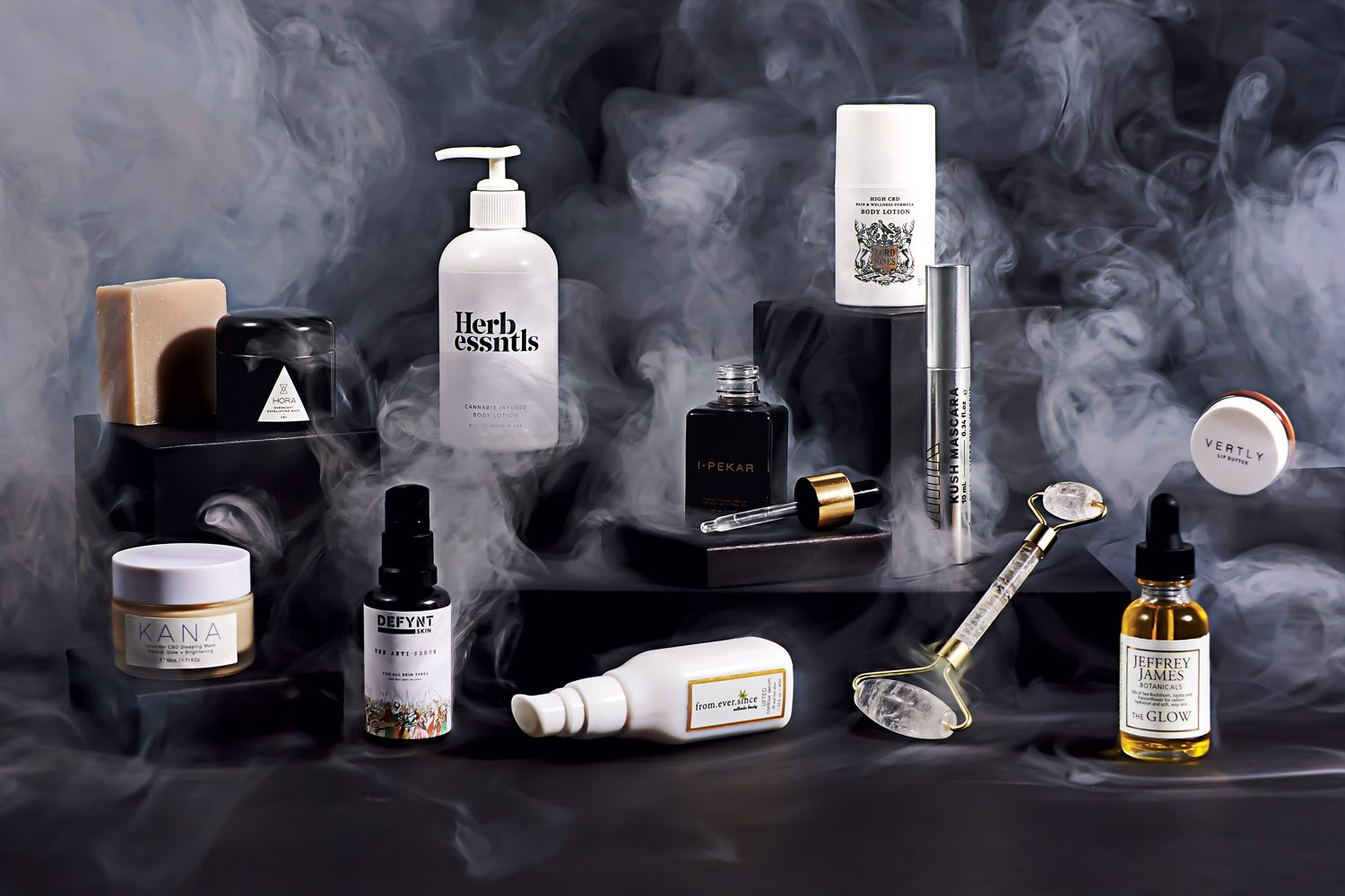 Photograph by Lauren Bulbin. most beautiful high end luxury cannabis beauty skincare products cbd hemp oil cannabis oil