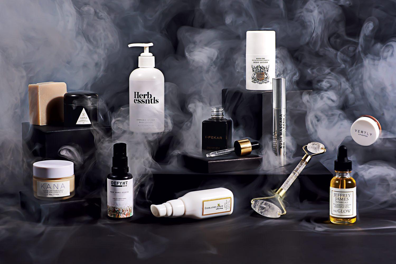 Photograph by Lauren Bulbin. most beautiful high end luxury cannabis beauty skincare products cbd hemp oil cannabis oil