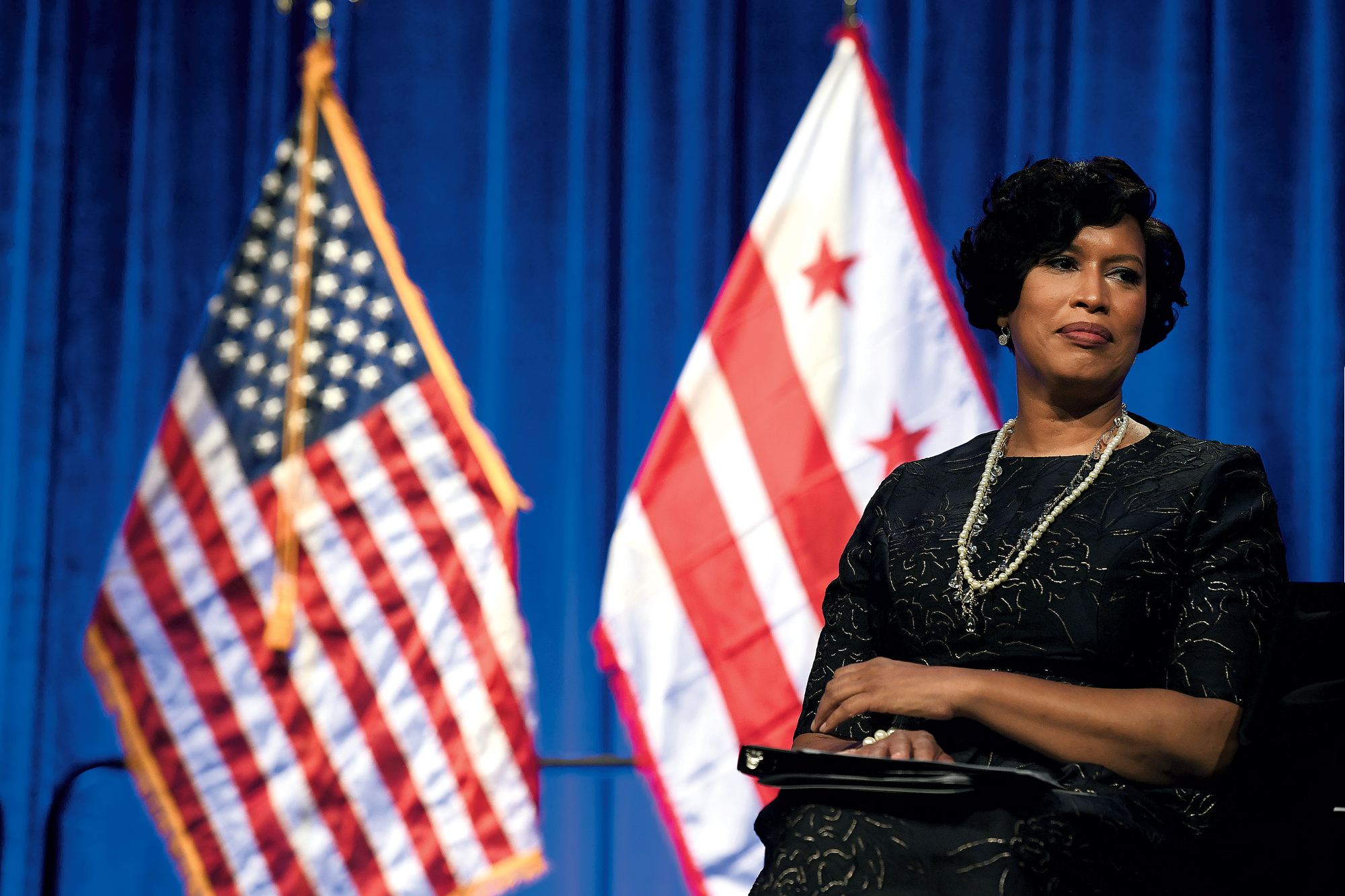 Is Muriel Bowser eyeing the White House? Photograph by Matt McClain/<em>Washington Post</em>.