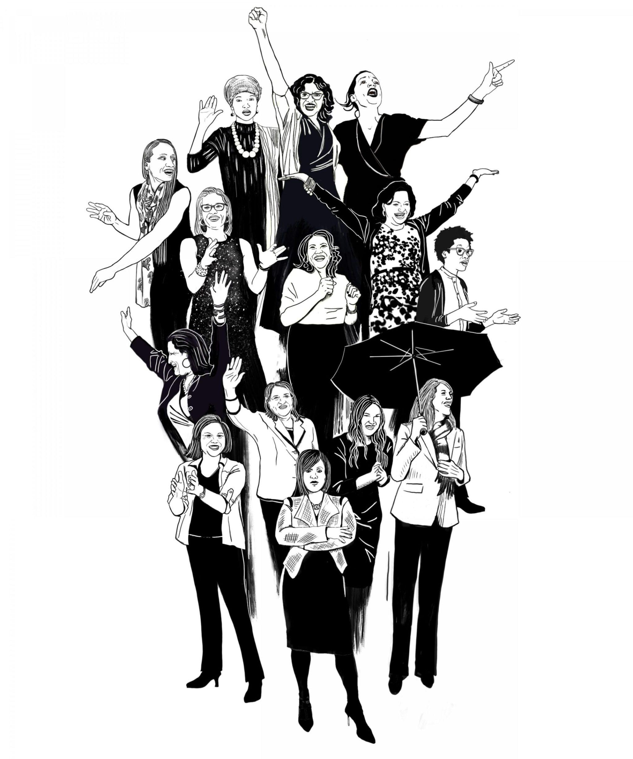 resistance by design alex posen women in congress tee scarf
