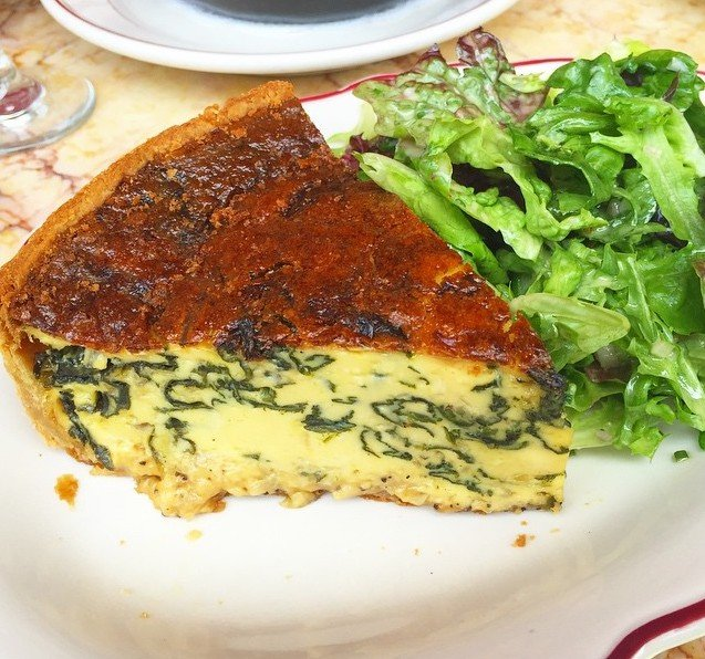 Quiche Is the Totally Underrated Brunch Food You Should Be Ordering