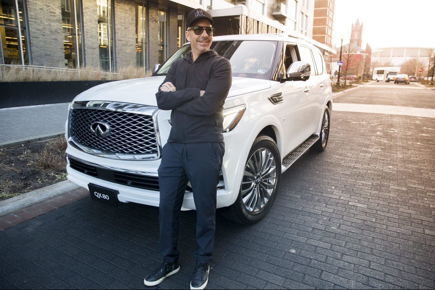 A day in the life of makeup artist Carl Ray, presented by Infiniti.
