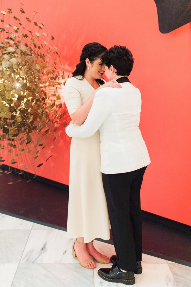 Meghan Berlingo + Kasey Dorris | Luck and Love Photography | lucklovephotographywashingtondcweddingphotographermeghanandkaseyweddinginDCcoffeeamuseum12