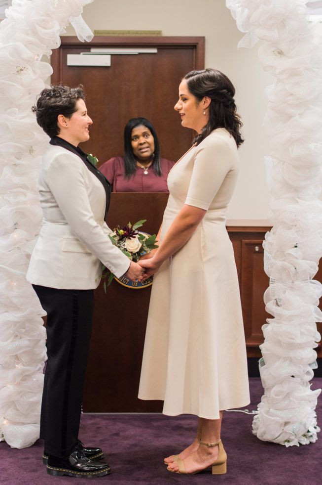 Meghan Berlingo + Kasey Dorris | Luck and Love Photography | lucklovephotographywashingtondcweddingphotographermeghanandkaseyweddinginDCthecourthouseceremony10