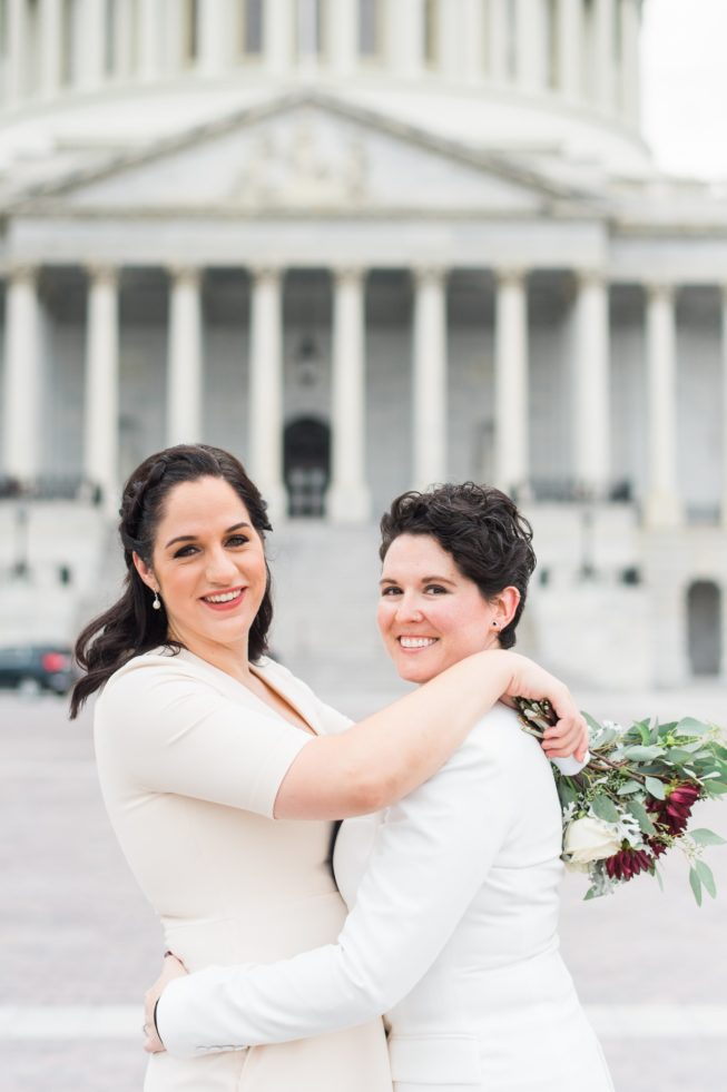 Meghan Berlingo + Kasey Dorris | Luck and Love Photography | lucklovephotographywashingtondcweddingphotographermeghanandkaseyweddinginDCthesupremecourtthecapital01