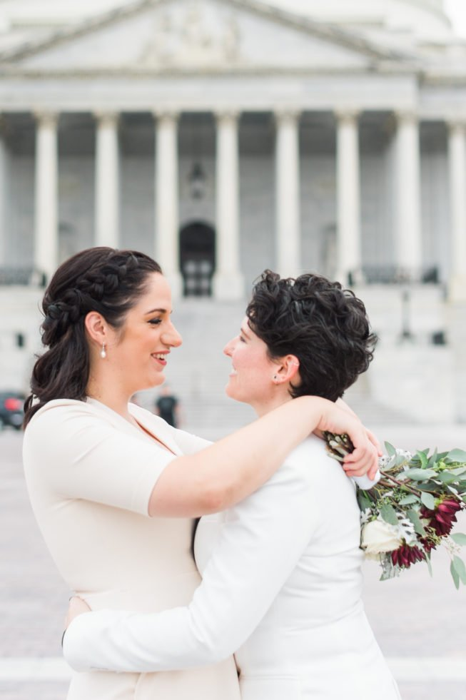 Meghan Berlingo + Kasey Dorris | Luck and Love Photography | lucklovephotographywashingtondcweddingphotographermeghanandkaseyweddinginDCthesupremecourtthecapital01.1.