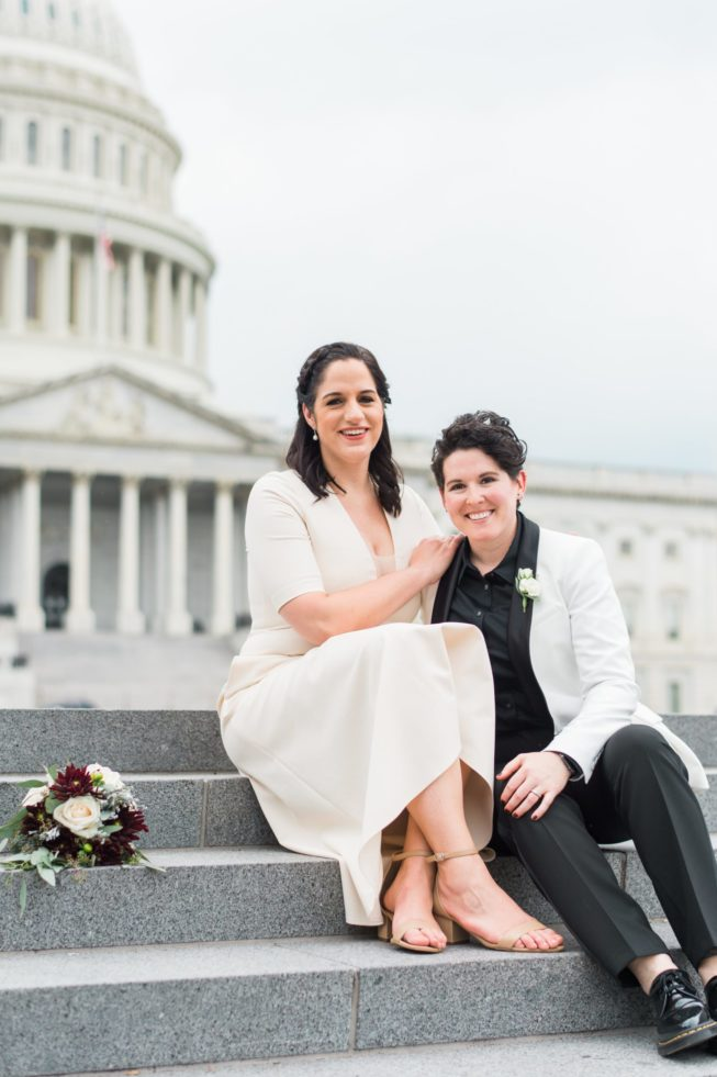 Meghan Berlingo + Kasey Dorris | Luck and Love Photography | lucklovephotographywashingtondcweddingphotographermeghanandkaseyweddinginDCthesupremecourtthecapital3.1
