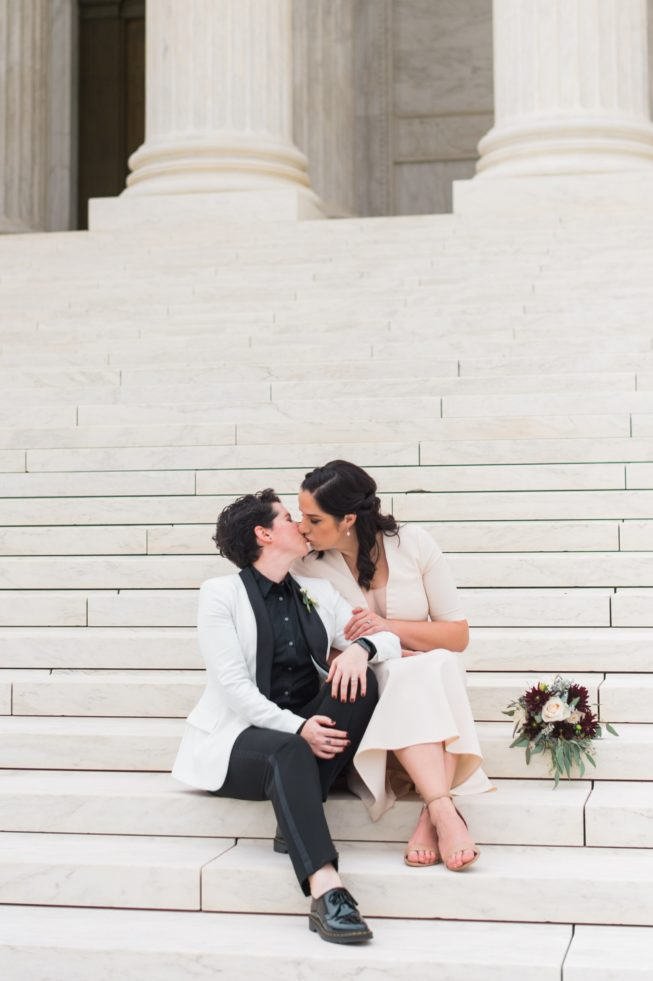 Meghan Berlingo + Kasey Dorris | Luck and Love Photography | lucklovephotographywashingtondcweddingphotographermeghanandkaseyweddinginDCthesupremecourtthecapital5