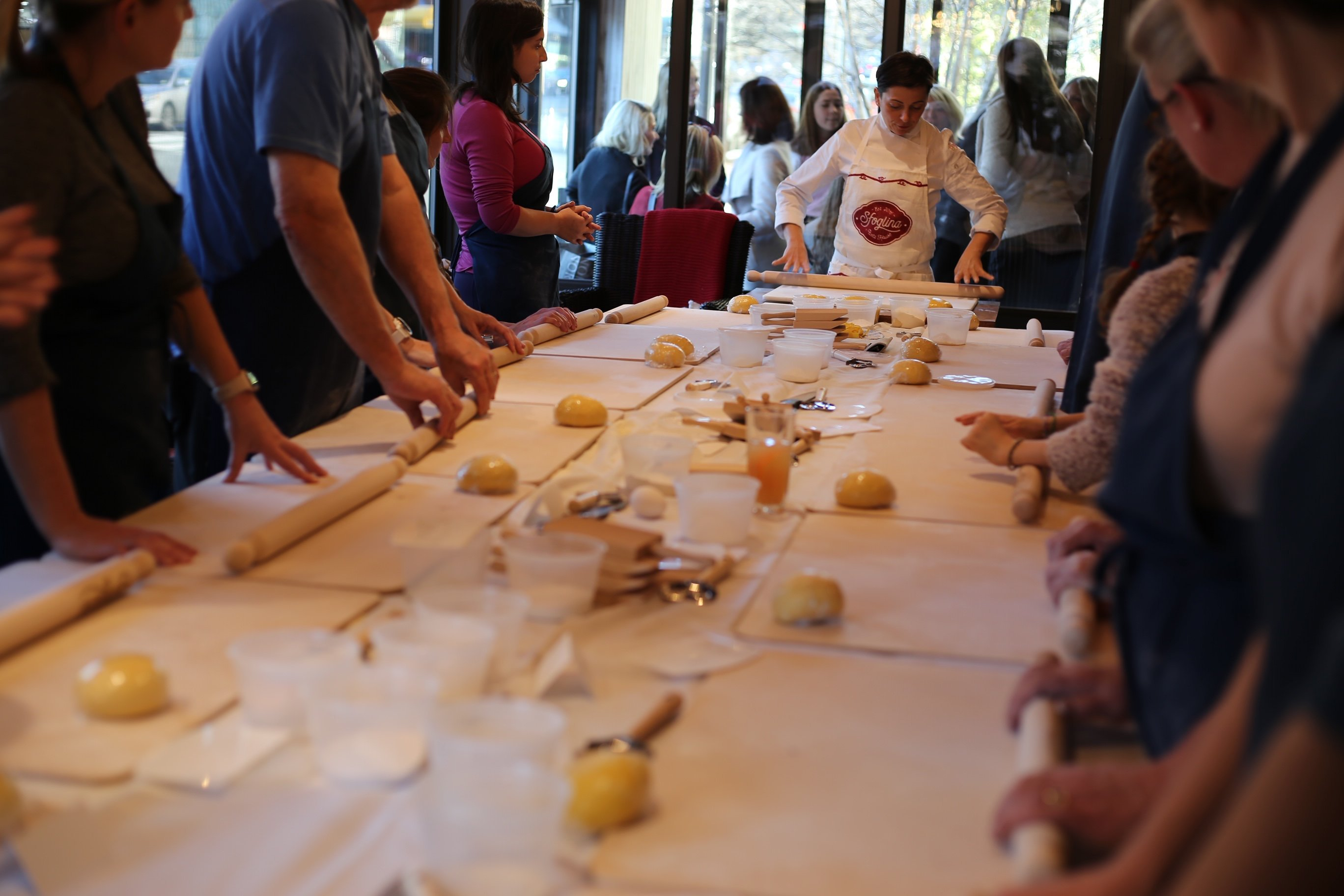 Learn how to make eggless pasta at Sfoglina Van Ness. Photograph courtesy of Sfoglina.