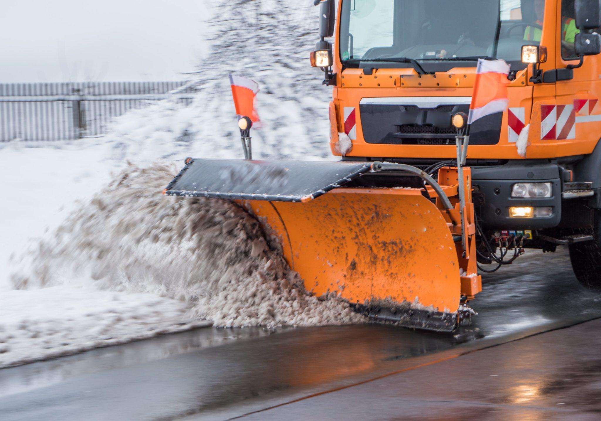 Snowplow. Photograph via iStock.