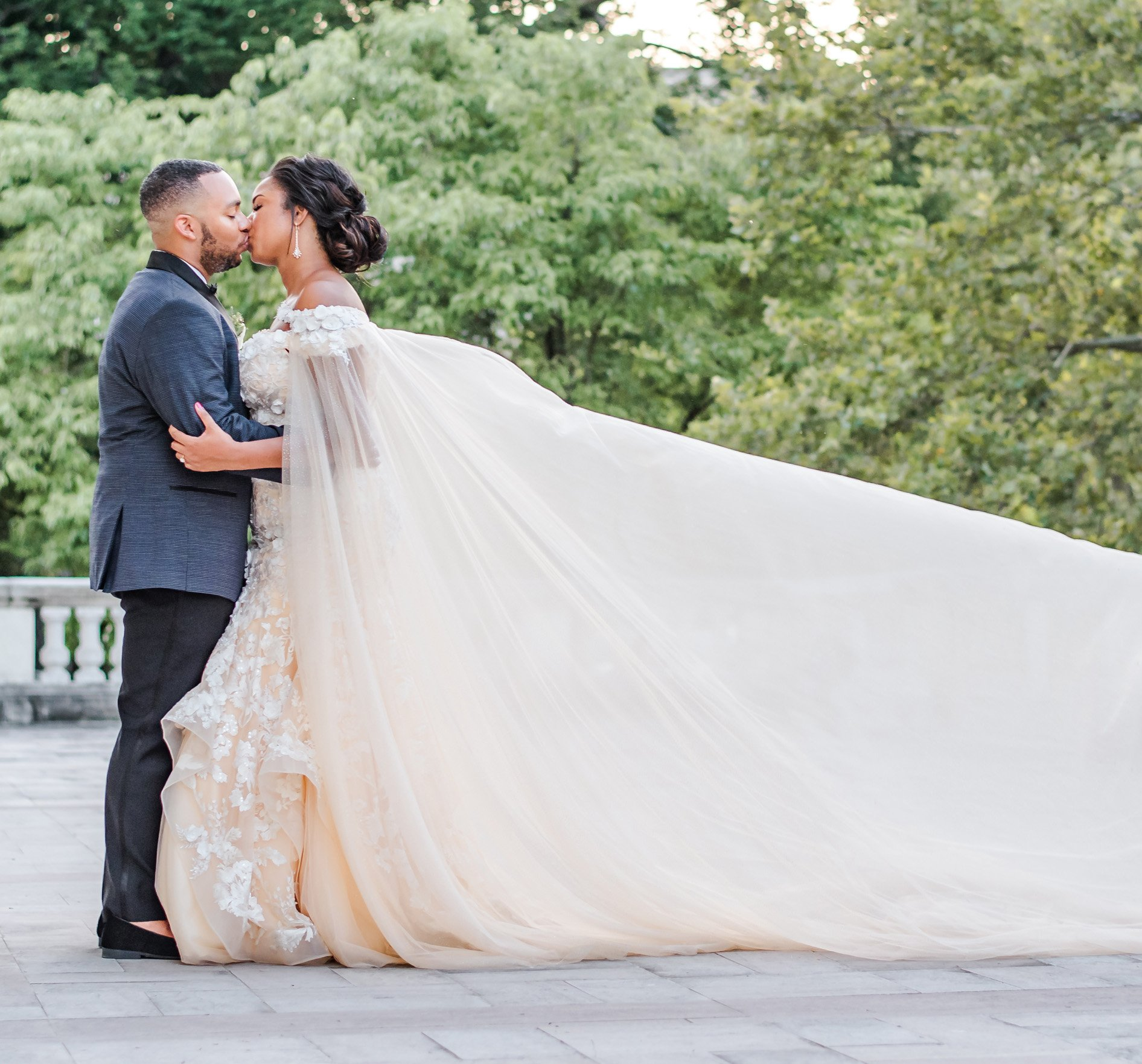 This Bride Custom Designed Her Dream Gown for 00