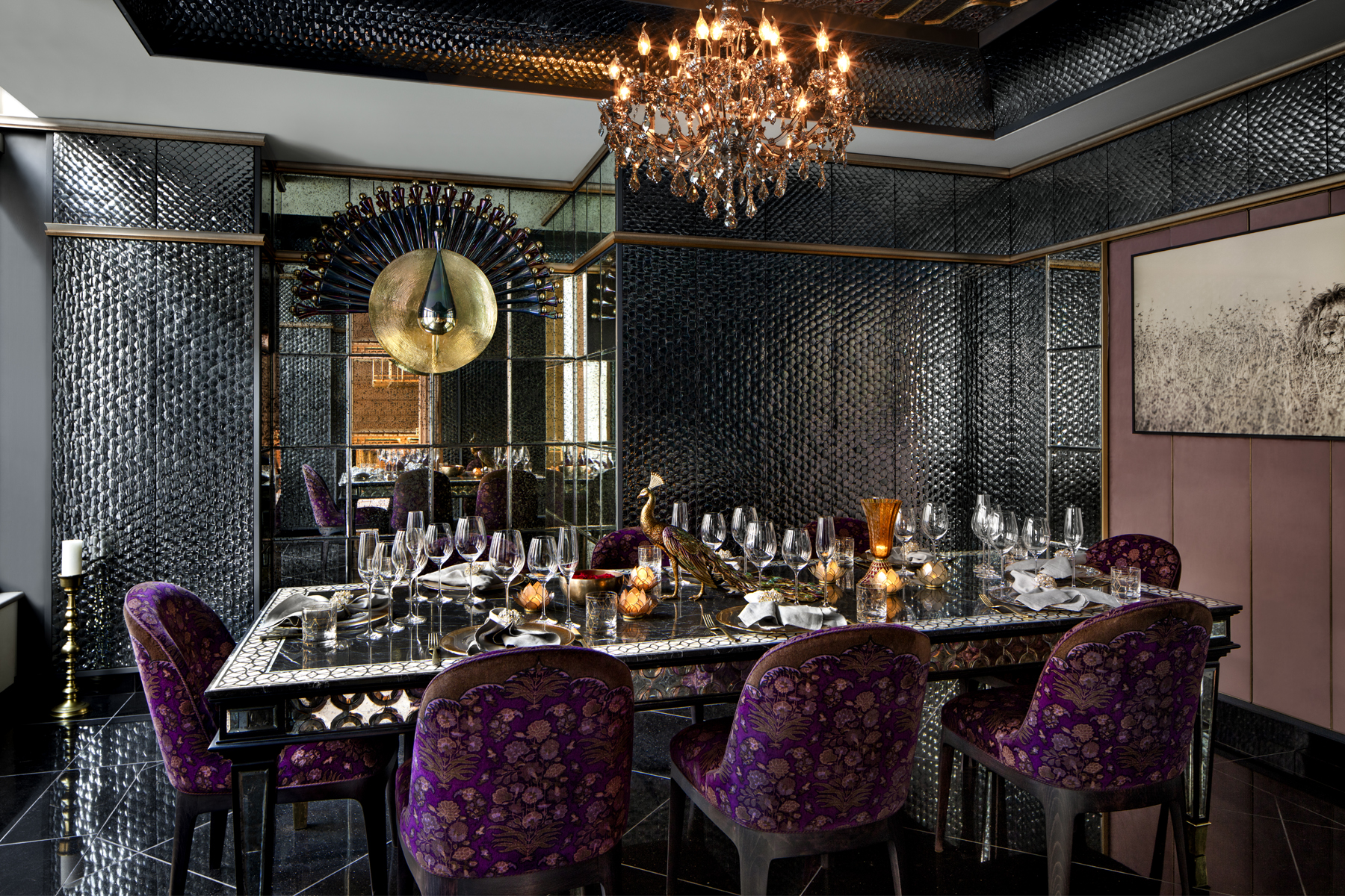 DCs Newest Fine Dining Indian Restaurant Is Built To Look Like A Dazzling Palace