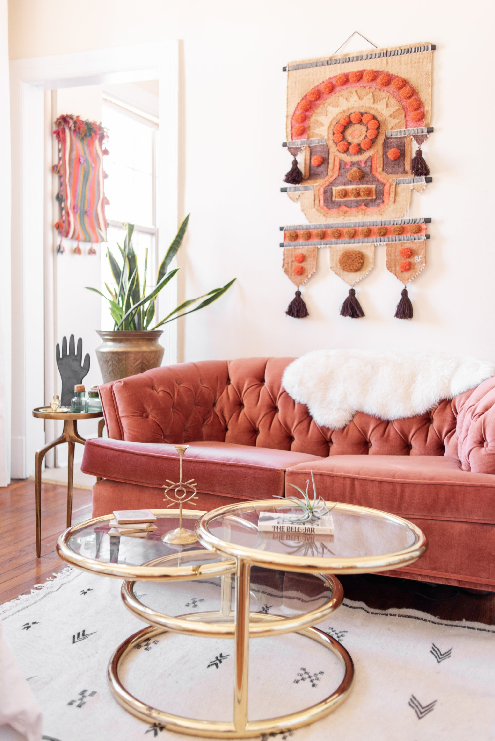 Look Inside My Home: An Artist's Wallpapered Studio in Mount Pleasant