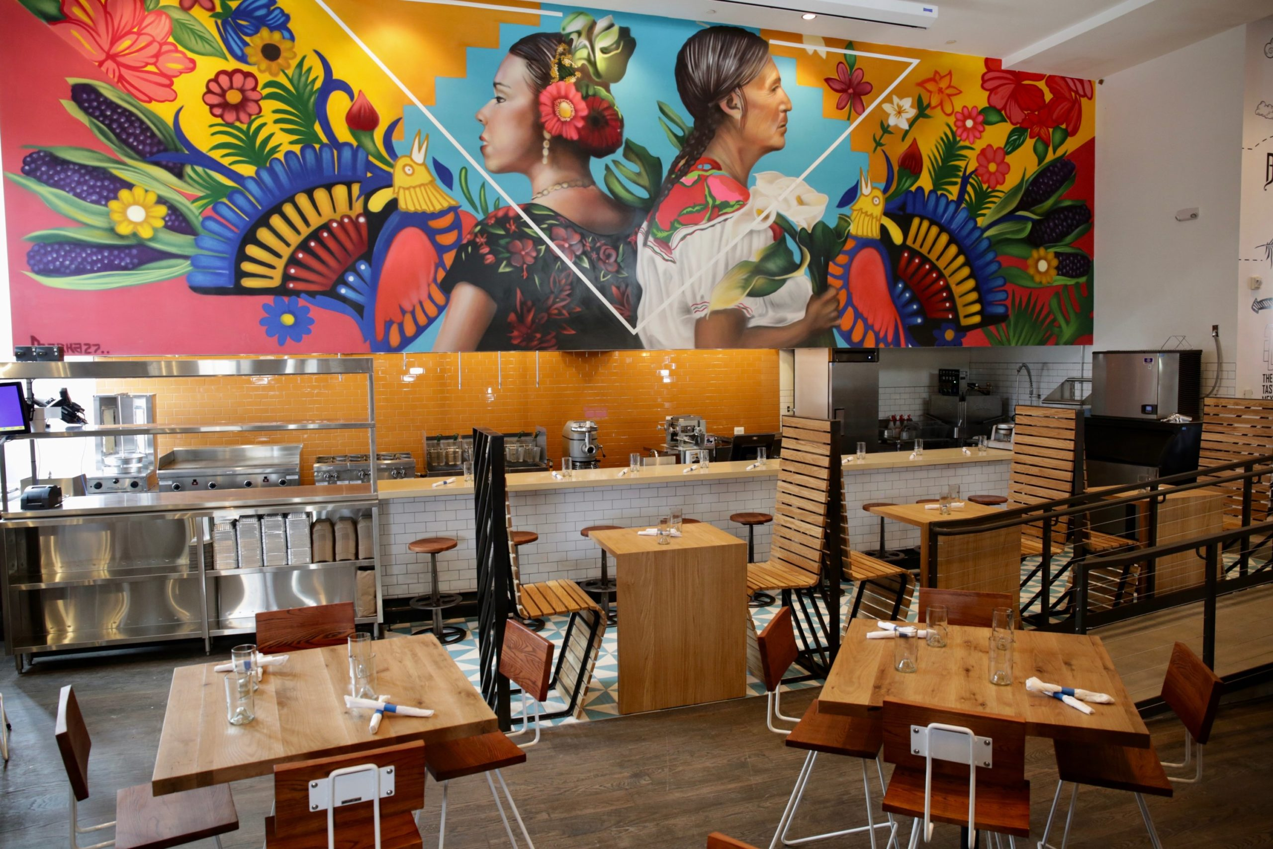 A Top Mexico City Chef Opens A Mexican Restaurant Rooftop In Arlington