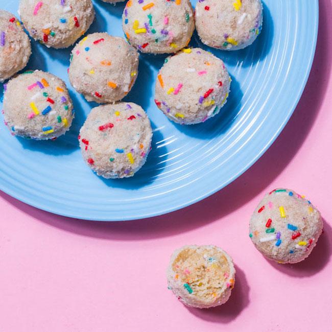Turn birthday cake into birthday truffles at Milk Bar's baking class on Saturday. Photograph courtesy of Milk Bar.