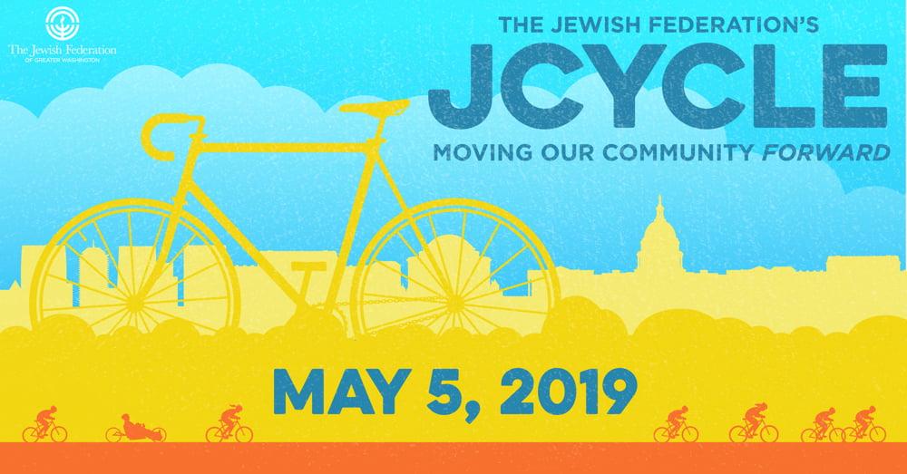 The Jewish Federation's JCYCLE Community Bike Ride