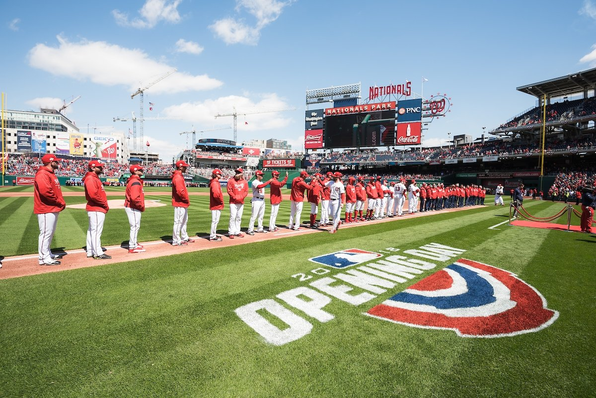Nationals Opening Day 2019