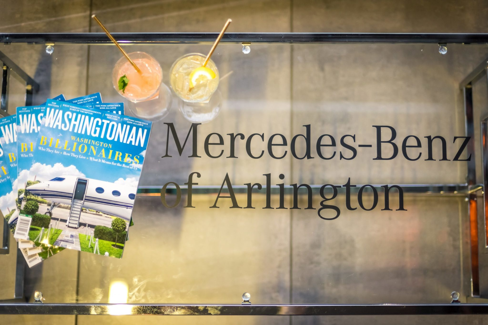 Photos From Washingtonian & Mercedes Benz's A-Class Launch Party