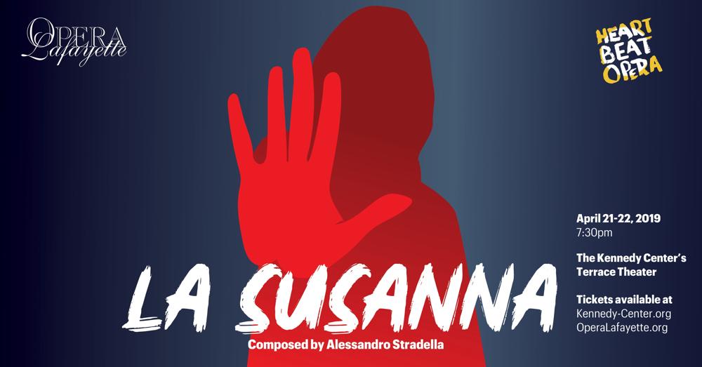 Stradella's La Susanna, a co-production with Heartbeat Opera