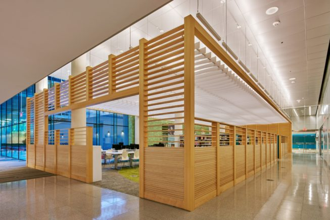 West End Library. Photograph courtesy of CORE Architecture & Design.