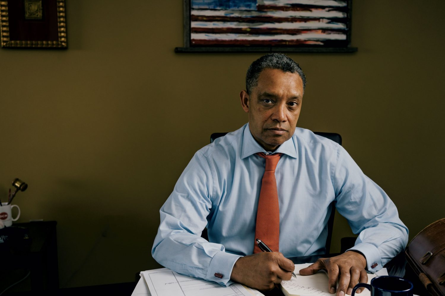 Two years ago, Karl Racine, the DC government's top lawyer, was the little-known head of an obscure and relatively new office. Today he's battling Facebook and suing Donald Trump. Who is this guy? And is his crusade actually good for the city that employs him? Photograph by Lexey Swall.