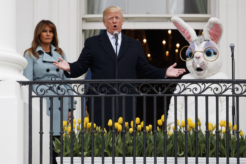 Melania Trump, White House Easter Bunny