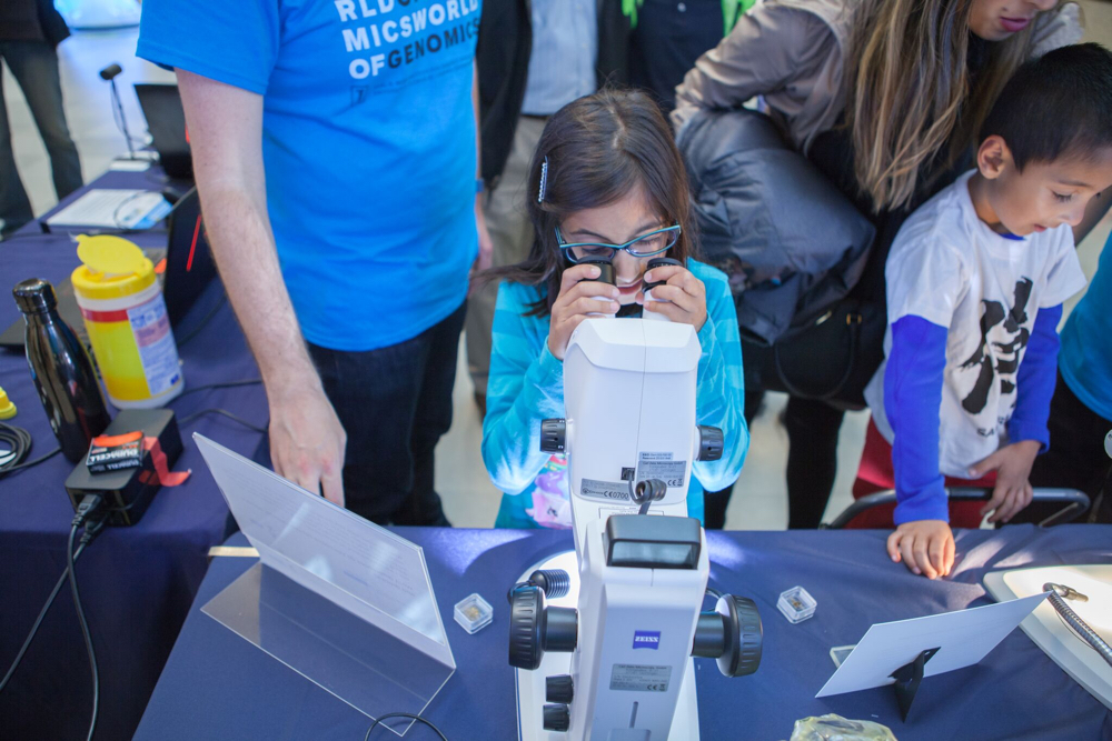Family Science Day at the National Academy of Sciences