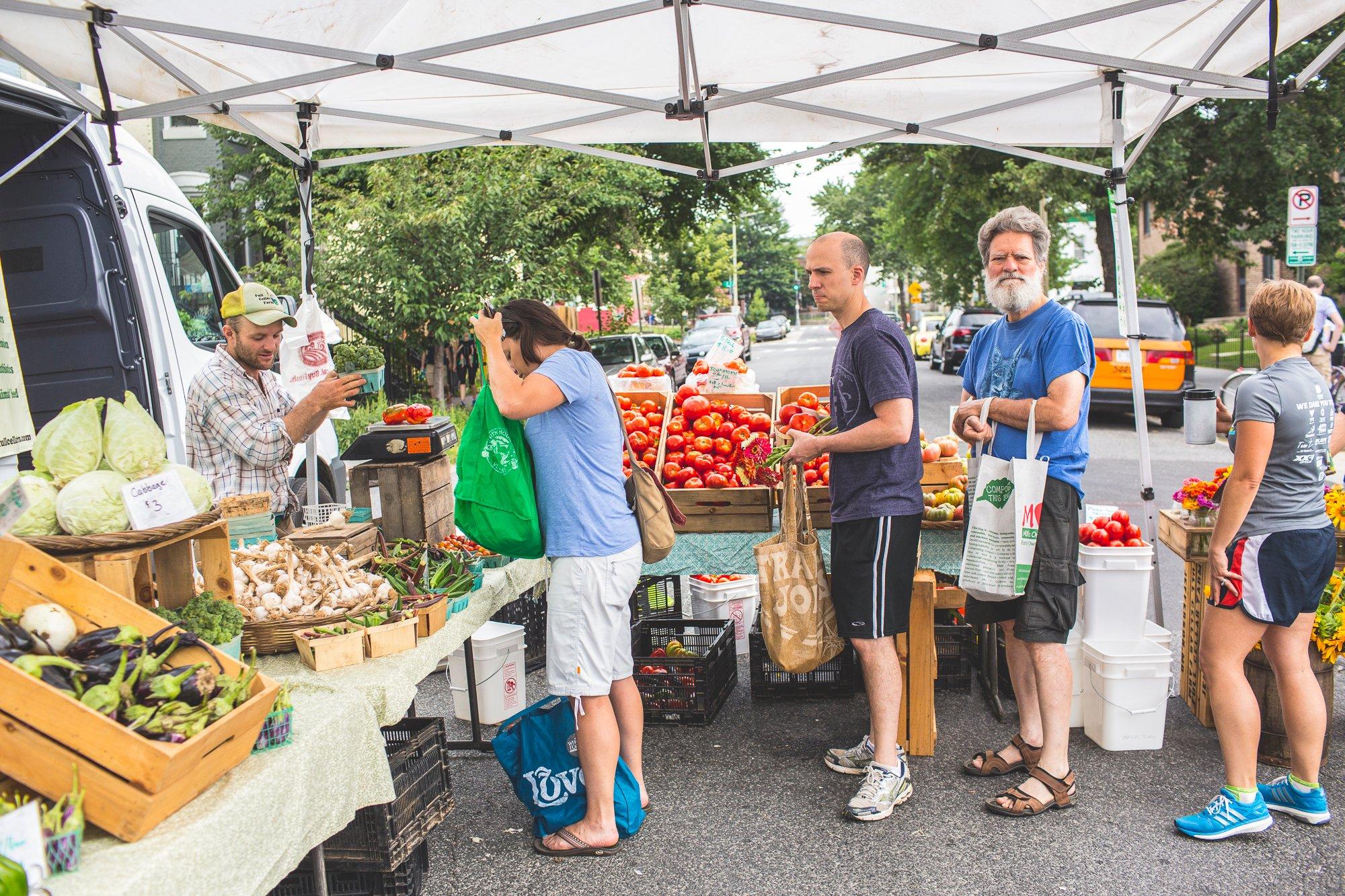 DC Farmers Markets 2019