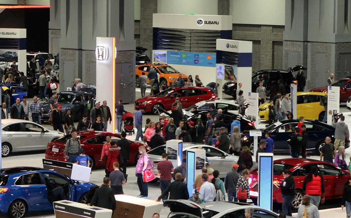 The Washington Auto Show runs from April 5 to April 14 at the Washington Convention Center. Photograph courtesy Washington Auto Show.