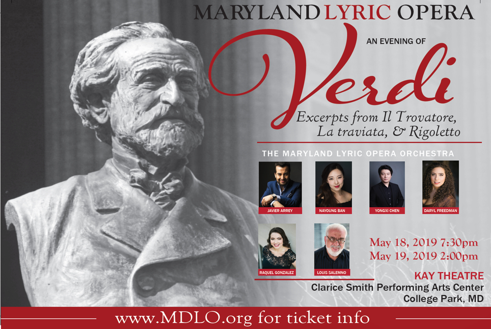 Maryland Lyric Opera: An Evening of Verdi