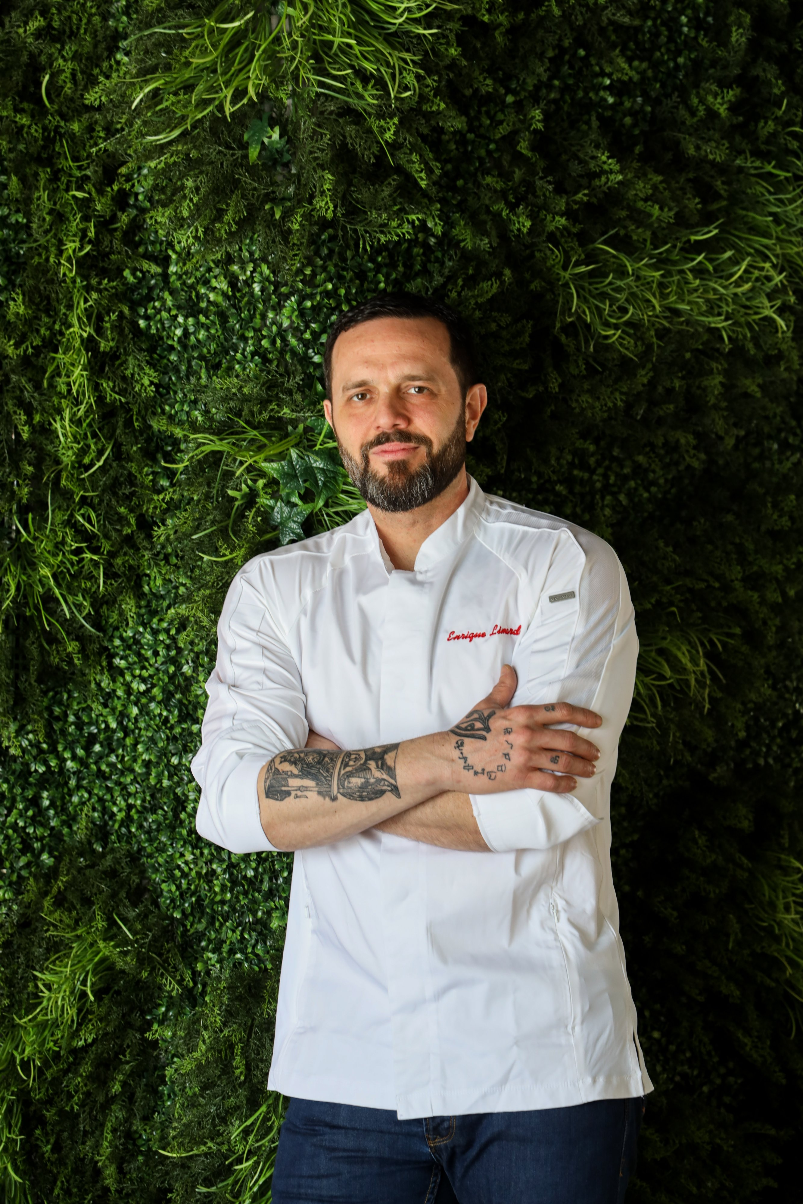 Seven Reasons chef Enrique Limardo. Photograph by Jen Chase