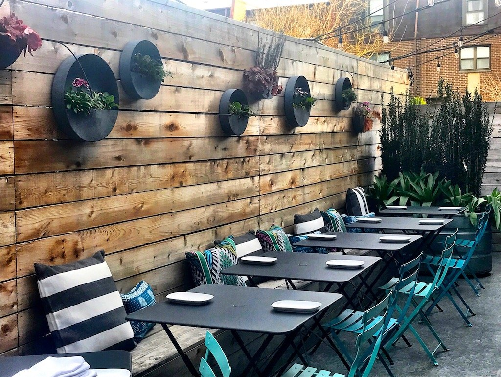 Best new outdoor bars wine gardens DC
