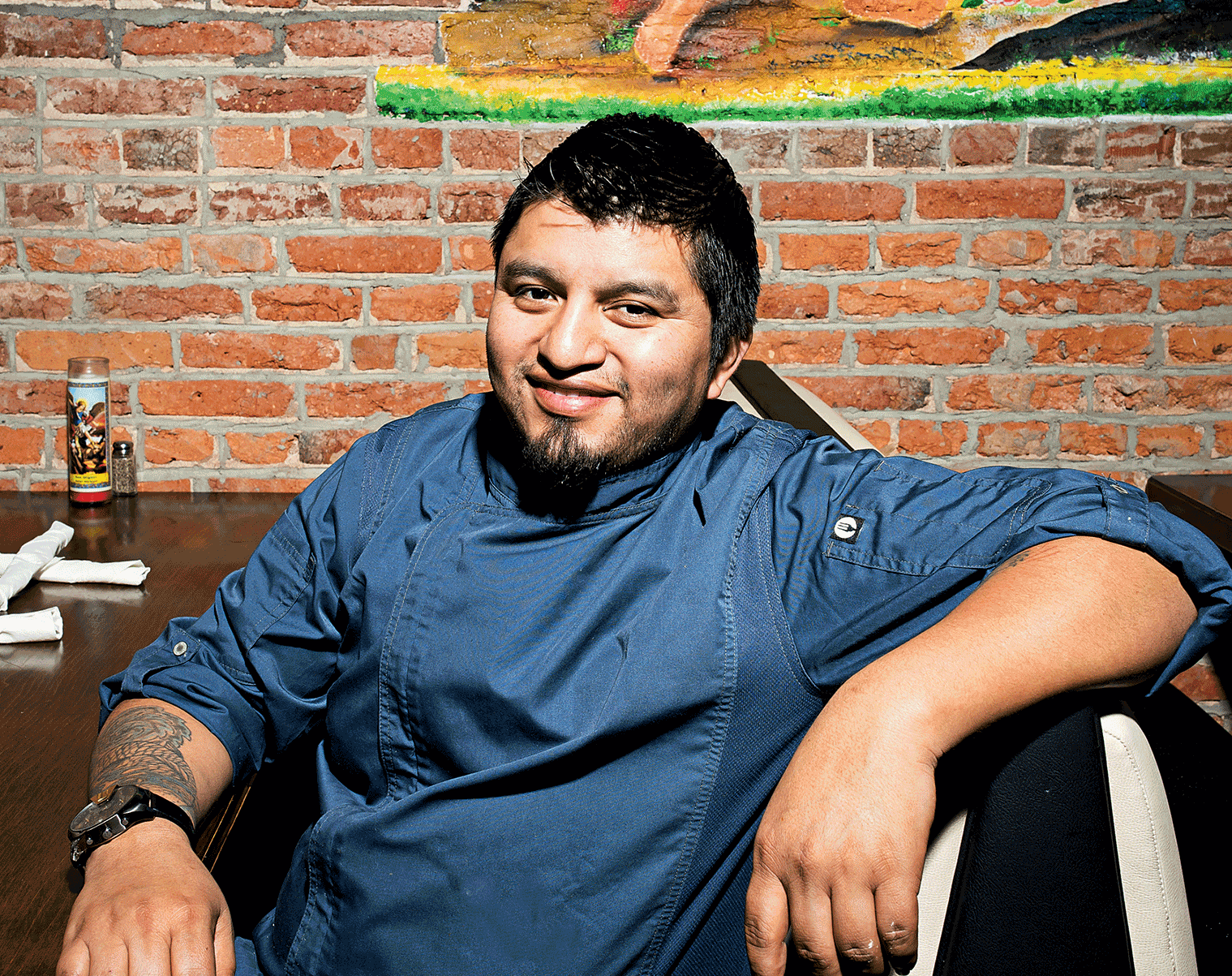 Alfredo Solis is chef and co-owner of Mezcalero in Columbia Heights.