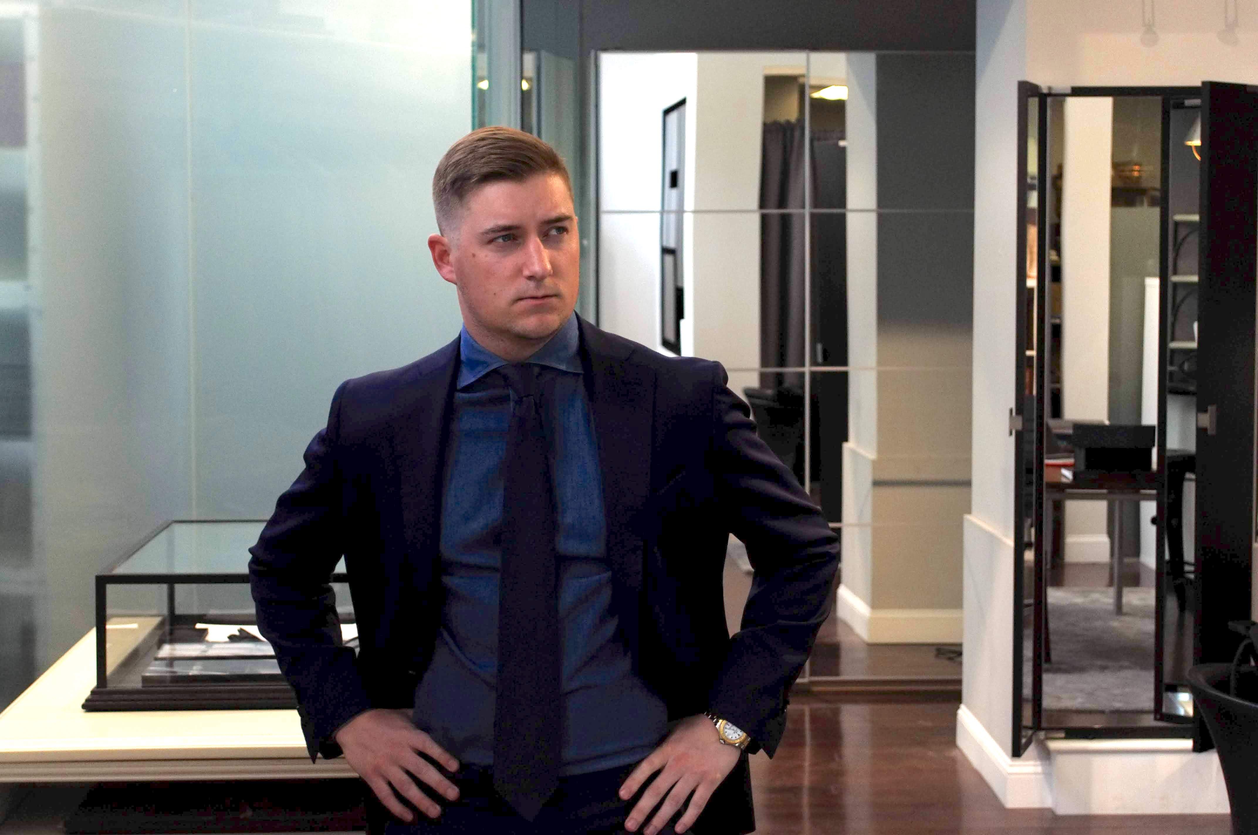 What I'm Wearing: Style Advice from a Custom Menswear Showroom Manager