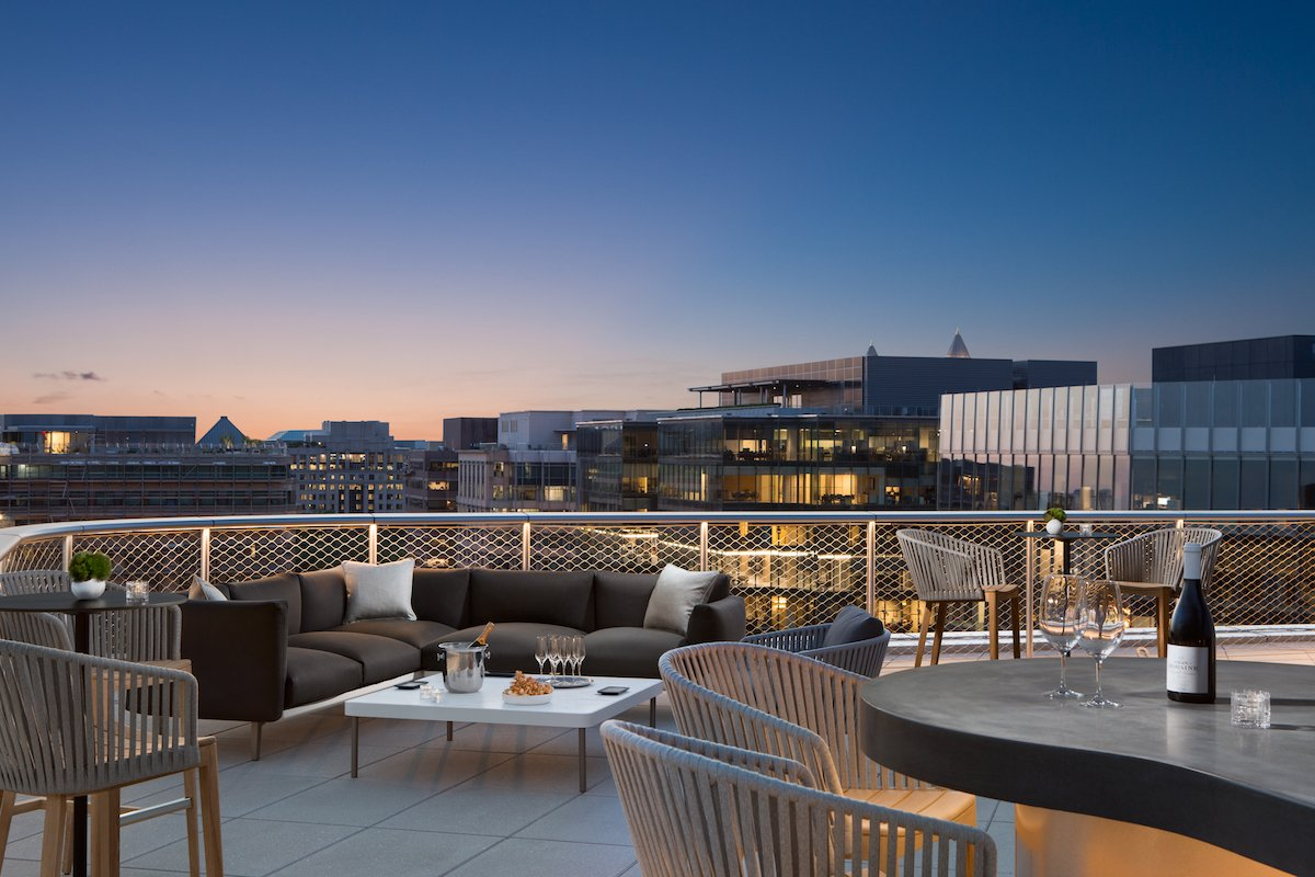 Best new outdoor bars rooftop bars hotel bars DC