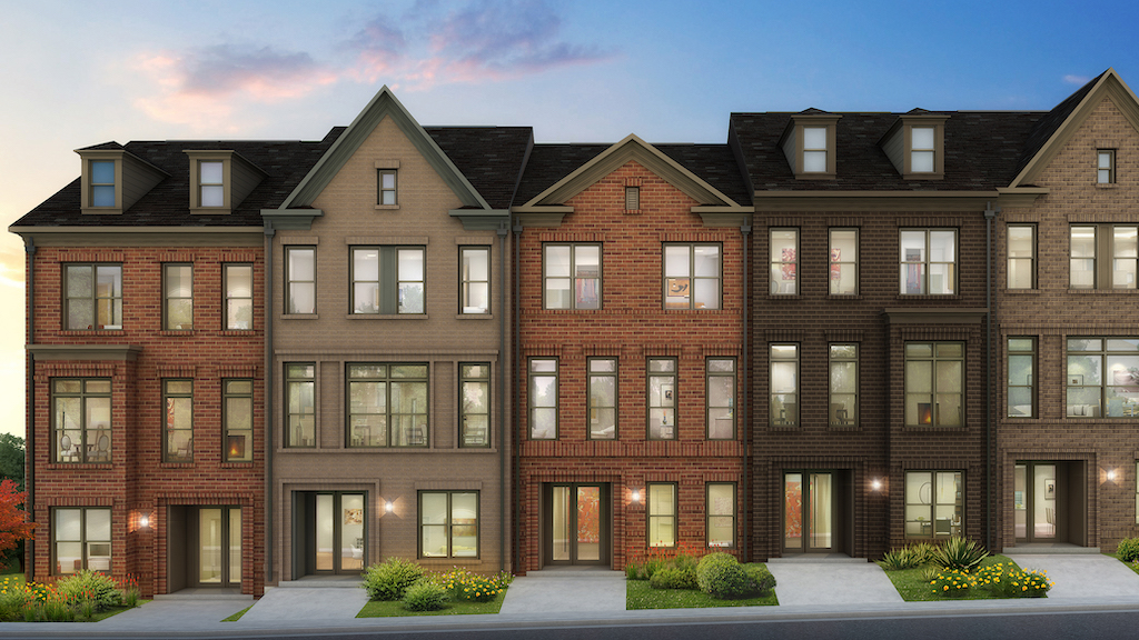 NEW TOWNHOMES BRING PREMIUM STYLE TO FAIRFAX AT WEST OAKS CORNER