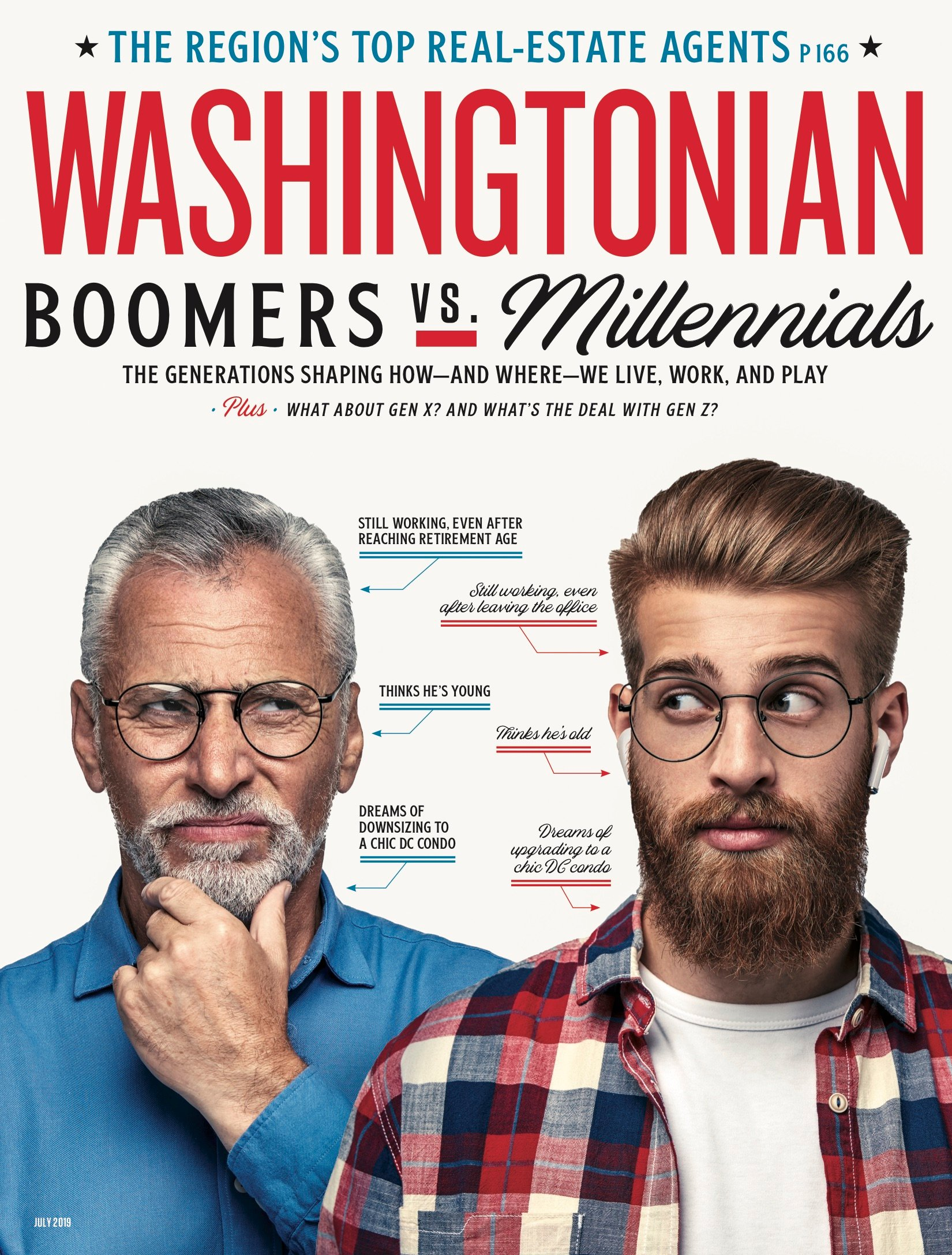 July 2019: Boomers vs. Millennials