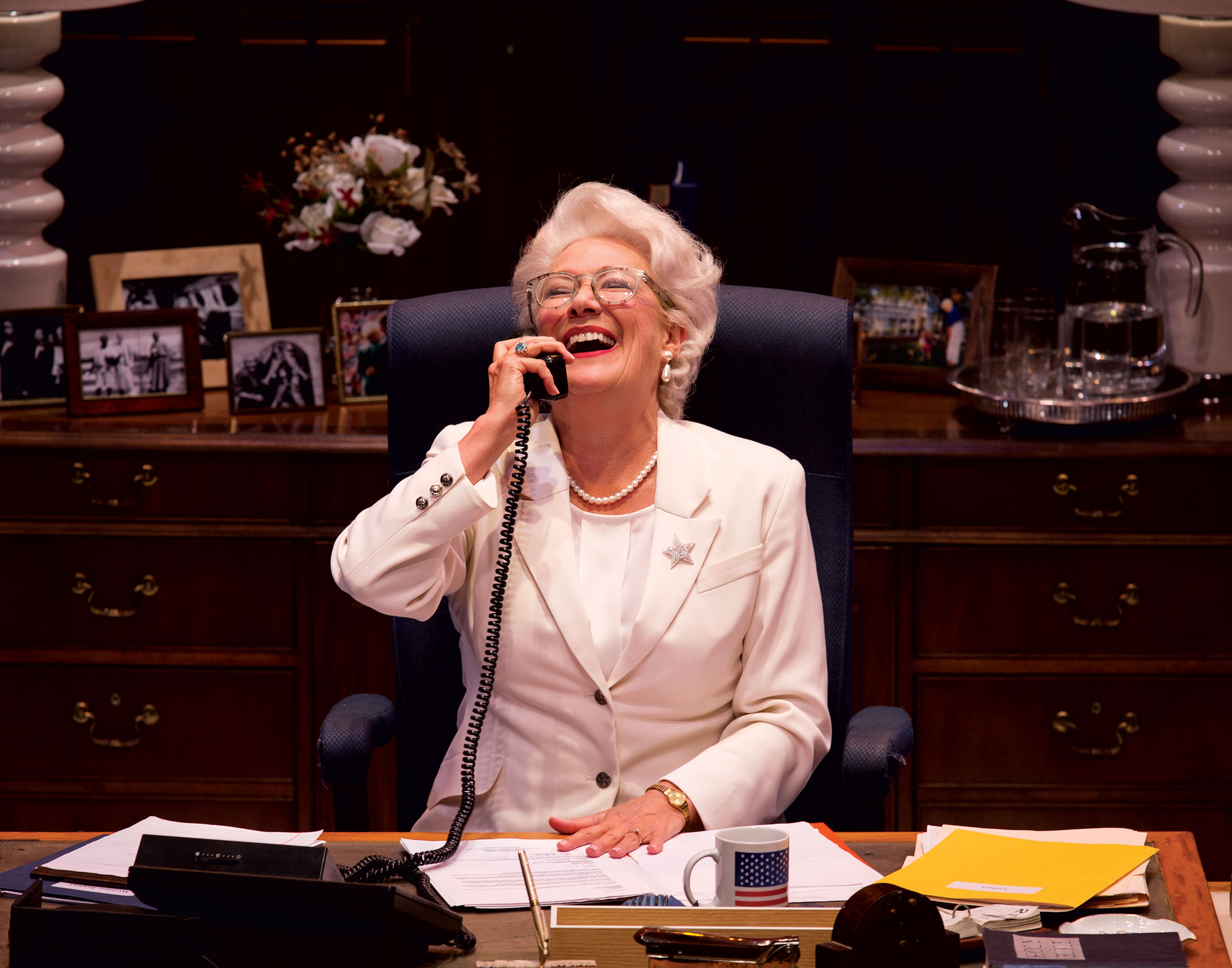 See Ann, starring Jayne Atkinson, at Arena Stage running July 11-August 11. Photograph by David Dashiell.