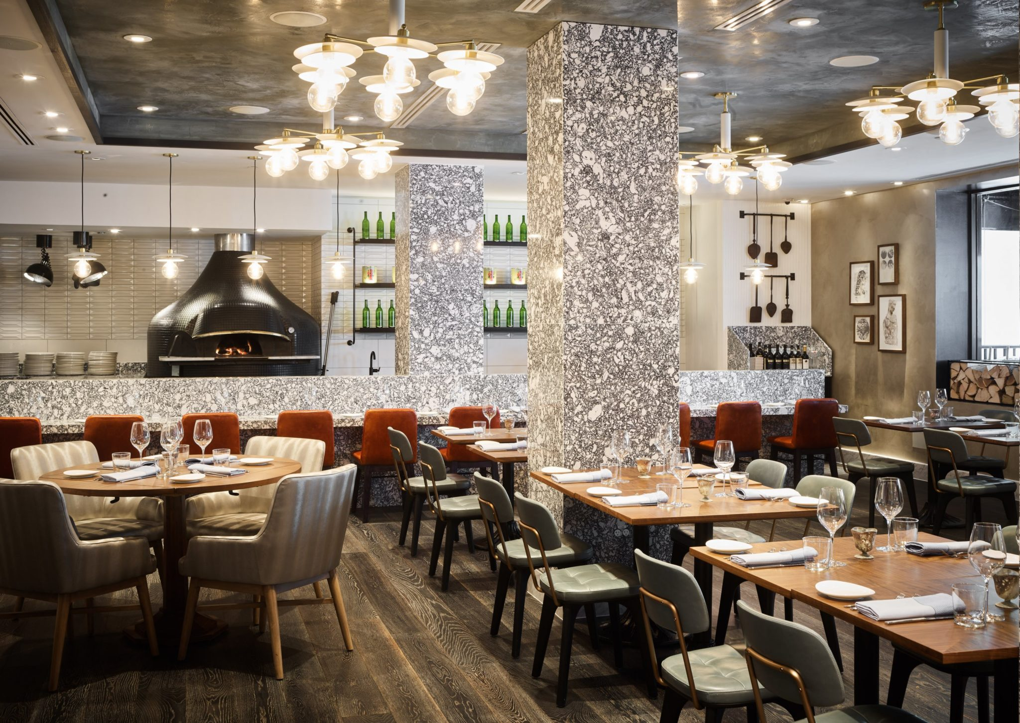 Italian Restaurant Via Sophia Opens In Dc With A Luxe