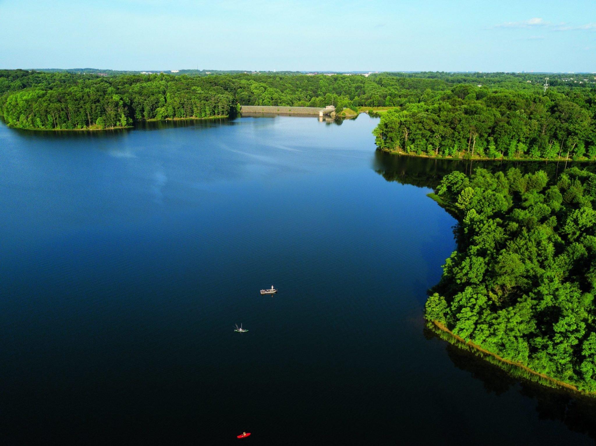 Seneca Creek State Park. Photograph of Seneca Creek State Park by Skip Brown