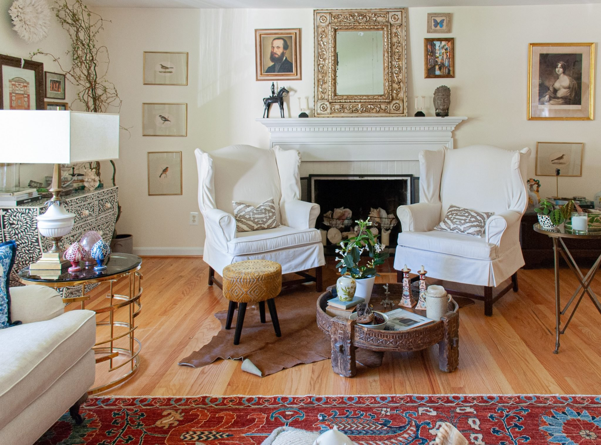 Look Inside My Home: A McLean Rental Filled With Antiques and Travel Finds