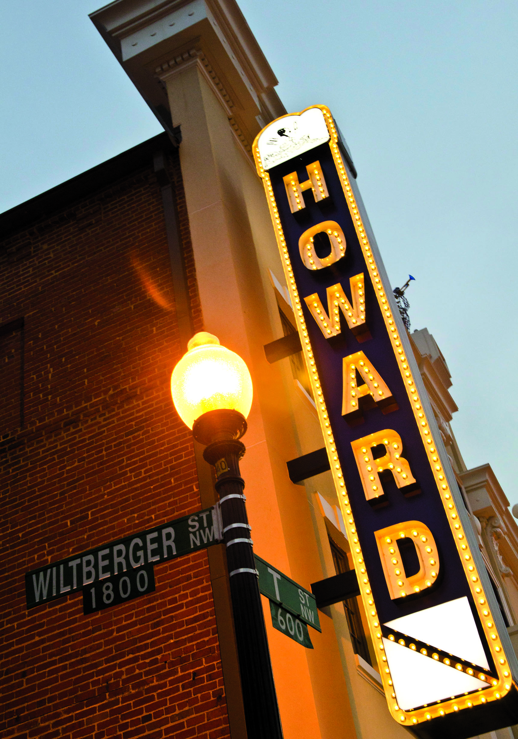 Photograph of Howard Theatre by Kris Connor/Getty